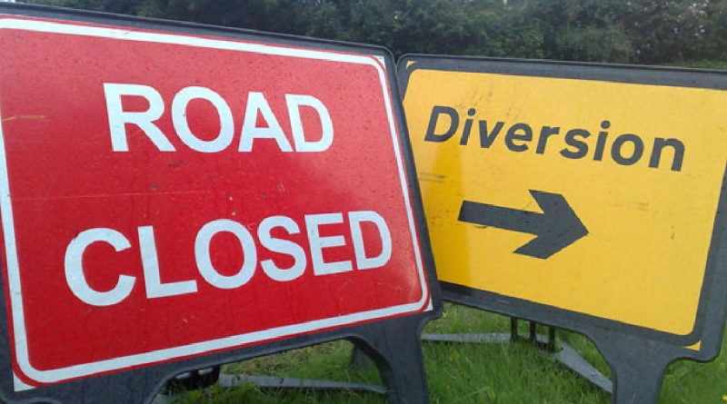 Wharf Road to be Closed for 2 Nights