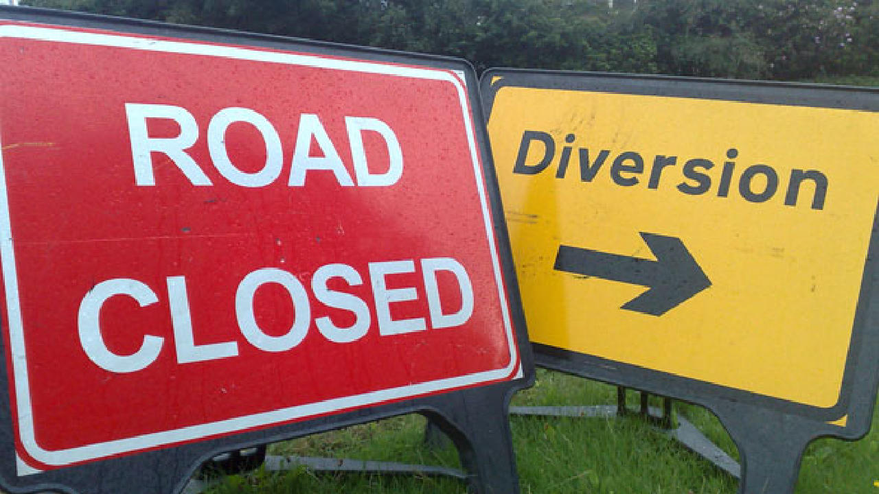 Image result for road closure images