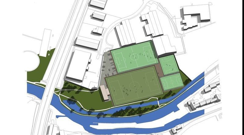 Planning Application for Football Ground Redevelopment