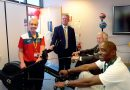 Team GB Olympian opens Newbury College Gym