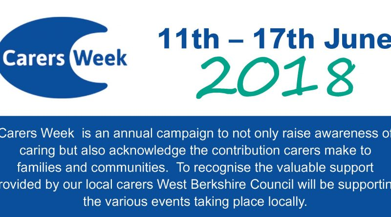 National Carers Week – Activities for Carers