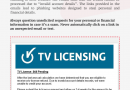 Fake TV License Refund Alert