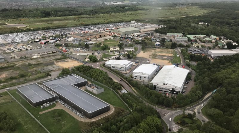 Aerial Greenham Business Park 2018