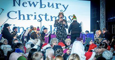 newbury Christmas Sing-Along - Credit Mark Davies Photography