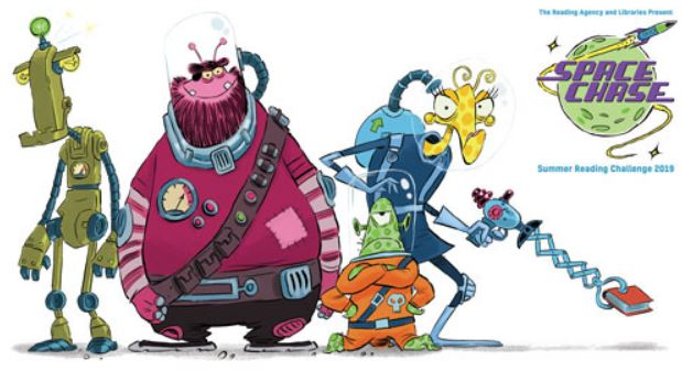 Children invited to join Space Chase at West Berkshire Libraries