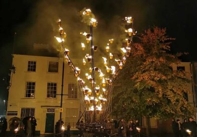 Corn Exchange Celebrate 10 Years of Outdoor Events with Fire