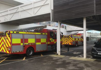 Breaking News: Fire crews in attendance at Sainsbury's