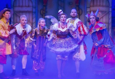 Oh yes it is – it's Sleeping Beauty at the Corn Exchange