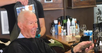 A close shave for a great local cause