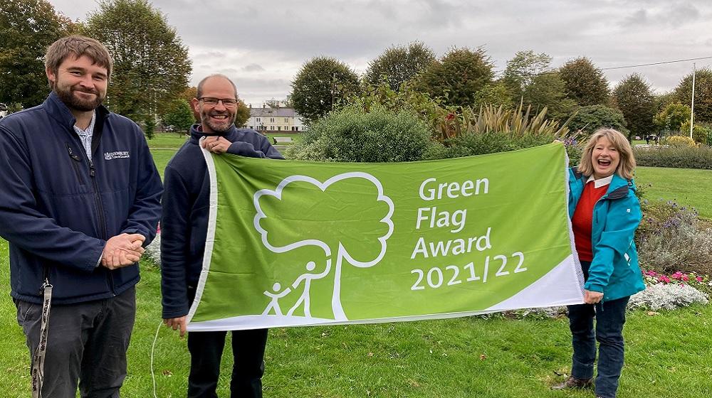 Newbury's Victoria Park awarded green flag